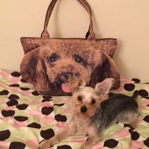 Cutest Doggy/Puppy 🐶 3D Flappy Ears Tote Bag❤️❤️